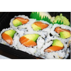 Alaska (Salmon Avocado) Roll