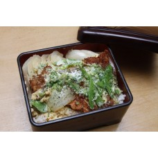 Katsudon (Deep fried pork Over Rice) かつどん