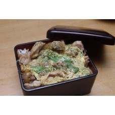 Oyakodon (Chicken & Egg Over Rice)