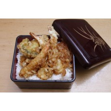 Tendon (Tempura Over Rice) てんどん