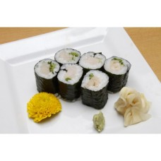 Hamachi Negi (Yellowtail Scallion) Roll はまちねぎ